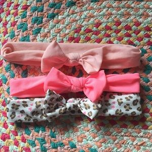 Set of 3 baby bows 🎀